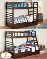 www.mattressonline.ca has tons of bunk beds. cobourg showroom op