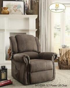 Non rocking power lift  recliners (MA828)