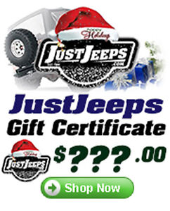 Just Jeeps Gift Certificates Make The Perfect GIFT!!