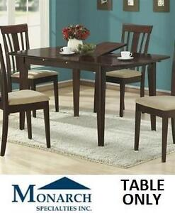 NEW* MS DINING TABLE MONARCH SPECIALTIES CAPPUCCINO 109694905