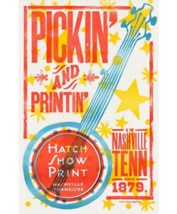Country Music - Hatch Show Print - Pickin' and Printin'