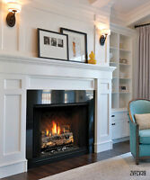 fireplaces, installs, conversions - gas line hookups Toronto