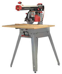 Rigid radial arm saw model rs 1000 Excellent