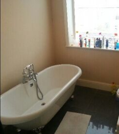 Roll Top Bath already dismantled for easy collection