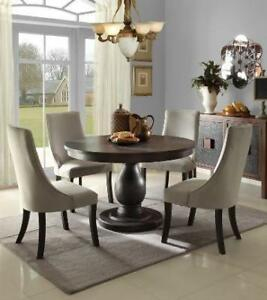 round dining room tables (MA928)