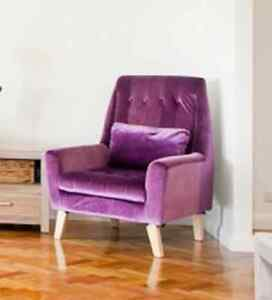 Blue armchair - purple one already sold... Macquarie Links Campbelltown Area Preview