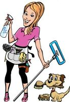 residential cleaning or move outs