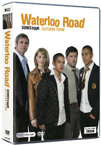 Waterloo Road Series 4 Autumn Term  DVD Brand New (Not Sealed) 3 Discs Region 2