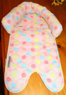 Baby Girls Car Seat/Pram Head Support Lining Pillows - Post Avail Werribee Wyndham Area Preview