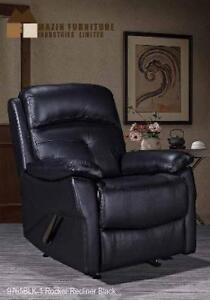 Rocker Recliner Chair in Genuine Leather (BD-2477)