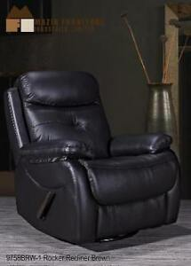 Real Leather Black Recliner Chair on Sale (BD-2475)