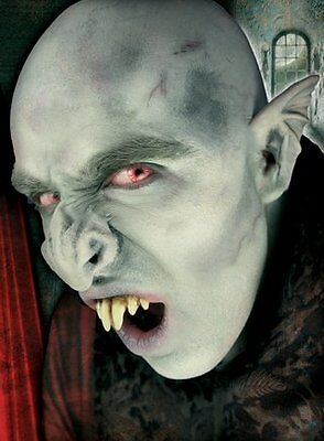 Prosthetic Makeup Halloween (Vampire Nose Nosferatu Bat Dress Up Halloween Costume Makeup Latex)