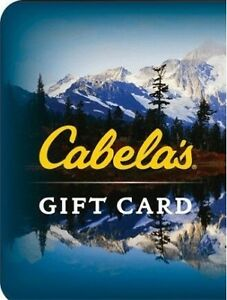 WANTED :  Cabela's Gift cards