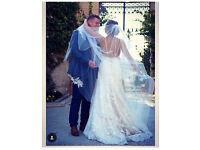 Mori Lee custom wedding dress