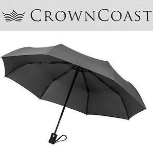 NEW CROWN COAST WINDPROOF UMBRELLA 60MHP WINDPROOF, COMPACT, TRAVEL 100005589