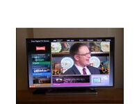 "Panasonic 42"" smart TV - excellent condition"