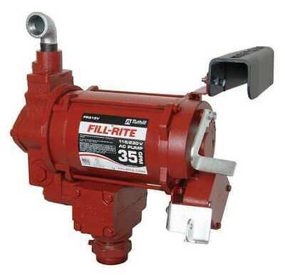 Fill-rite Fr310vn Fuel Transfer Pump 115230vac 35 Gpm 34 Hp Cast Iron