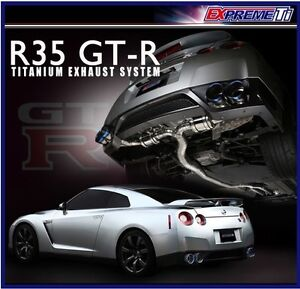 Tomei Expreme Ti Cat Back Exhaust for Nissan GT-R R35
