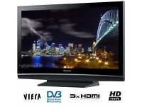 Panasonic 42 inch TV HD Ready 100Hz with Freeview built in, 3 x HDMI SD Card Slot no 39 40 43