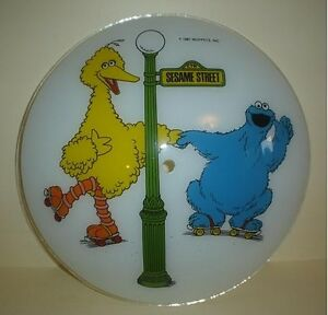 Sesame Street Lamp - Shade - Big Bird & Cookie Monster