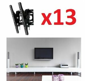 NEW IN BOX EM TILT TV WALL MOUNTS BLK 13 AVBL $50 RETAIL