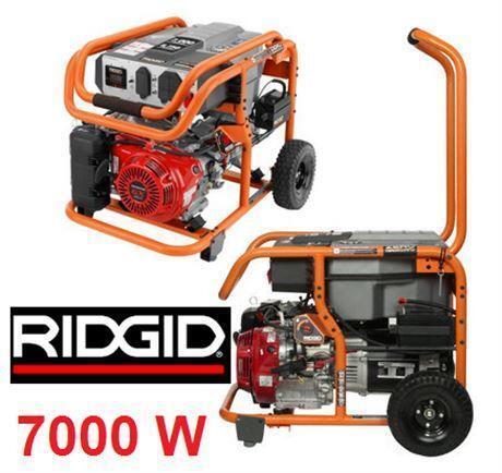 NEW* RIDGID GAS ELECTRIC GENERATOR 7,000 Watt Gasoline Powered Electric  Start Portable Generator Honda GX390 ENGINE | Power Tools | City Of Toronto  | Kijiji