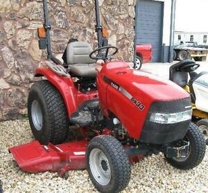 """CASEIH FARMALL DX33 COMPACT TRACTOR 720 HRS 60"""" MOW"""