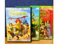 Shrek 1-4 dvds