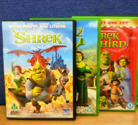 Shrek 1-4 dvds