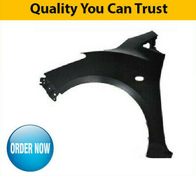 2007-2015 Mazda 2 Front Wing Passenger Side With Sill Moulding Hole High Quality