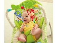 Fisher price rainforest baby to toddler chair