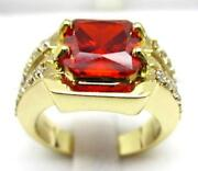 Mens Ruby Ring Size 10