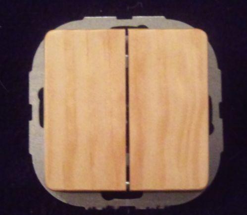 schalter holz ebay. Black Bedroom Furniture Sets. Home Design Ideas