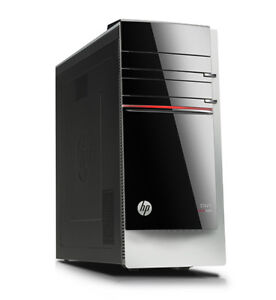 HP ENVY 700-109c Desktop PC with Hp Pavillion 23xi wide screen