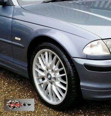 New front wings, RIGHT DRIVER BMW E46 Coupe/Cabrio, 1998-2003, STEEL BLUE 372 for sale  Shipping to Ireland
