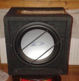 Alpine Boom Box and Amplifier 720