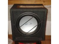 Alpine Boom Box and Amplifier 720