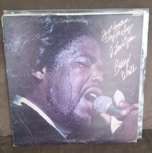 Barry White Vinyl records lp