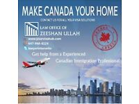 Law Office Of Zeeshan Ullah***Canada Visa Solutions***