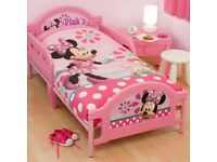 Minnie Mouse single bed frame