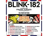 2x seated tickets Blink 182 Hydro Glasgow Tuesday 11th July