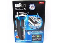 Mens braun pro skin 3 380s wet and dry shaver