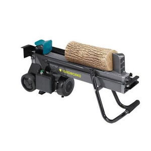 new in box electric 4 ton log splitter + stand