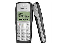 Unlocked Nokia 1100 Mobile Phone *Retro* Giff Gaff Works + Charger