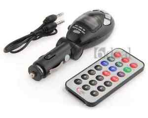 Car MP3 Player Wireless FM Transmitter USB/SD/MMC slot