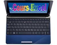 Excel - Enseignements privés basés sur les exercices (60$)