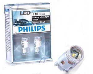 LAMPADE LAMPADINE PHILIPS 129644000KX2 W5W LED 4000K 12V ...