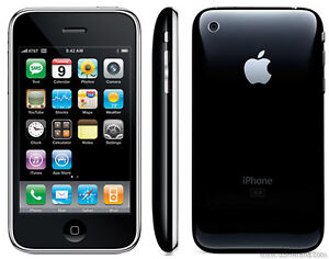 New Apple iPhone 3G 8 GB Black Unlocked Smartphone No Contract