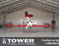 Steel Buildings with 25 year limited warranty