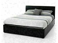 🔵💖🔴CASH ON DELIVERY 🔵💖🔴LEATHER SINGLE-DOUBLE+SMALL DOUBLE & KING SIZE BED FRAME w MATTRESSES